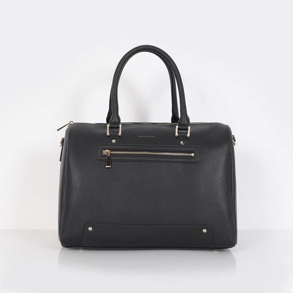 Rosie Baby Changing Bag - Black