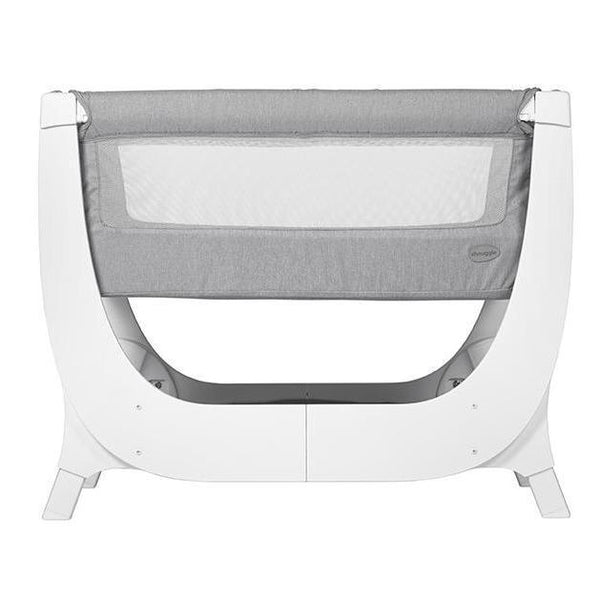 Shnuggle Air Bedside Crib Dove Grey-[option4]-[option5]