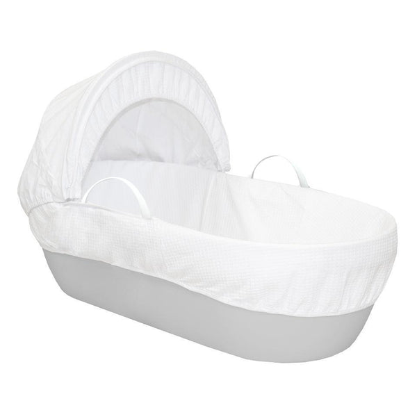 Shnuggle Moses Basket with Cotton Waffle