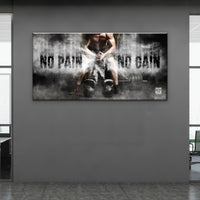 No Pain No Gain - Wallkraft Designs