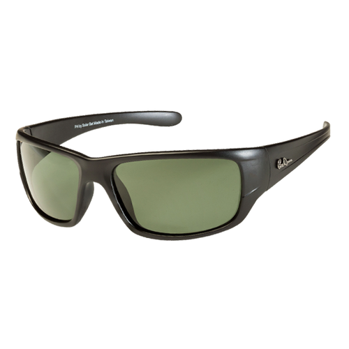 Polarized Bill Dance Solar Bat fishing sunglasses that catch big largemouth bass, big smallmouth bass, large crappie, and big saltwater fish.