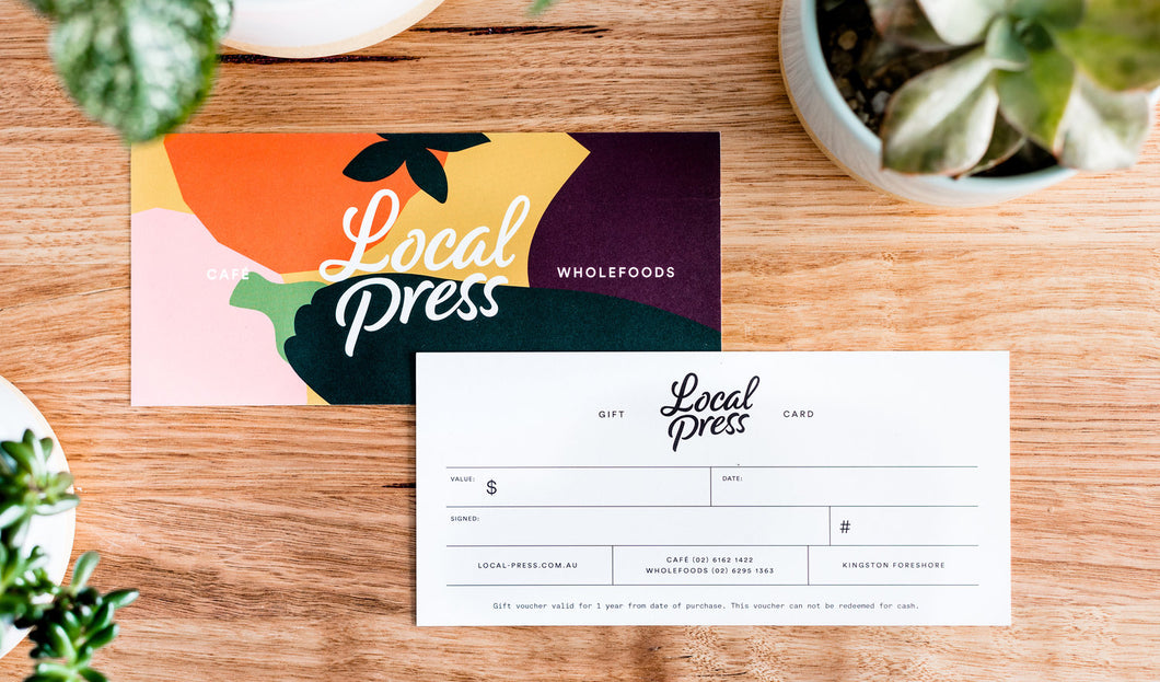 Local Press Gift Card