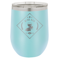 Polar Camel 12 oz Vacuum Insulated Stemless Wine Tumbler - Case of 24