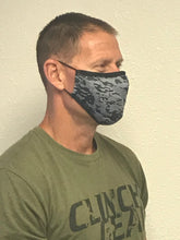 Load image into Gallery viewer, DFNDR 4 Layer Protection Face Mask - Camo Black