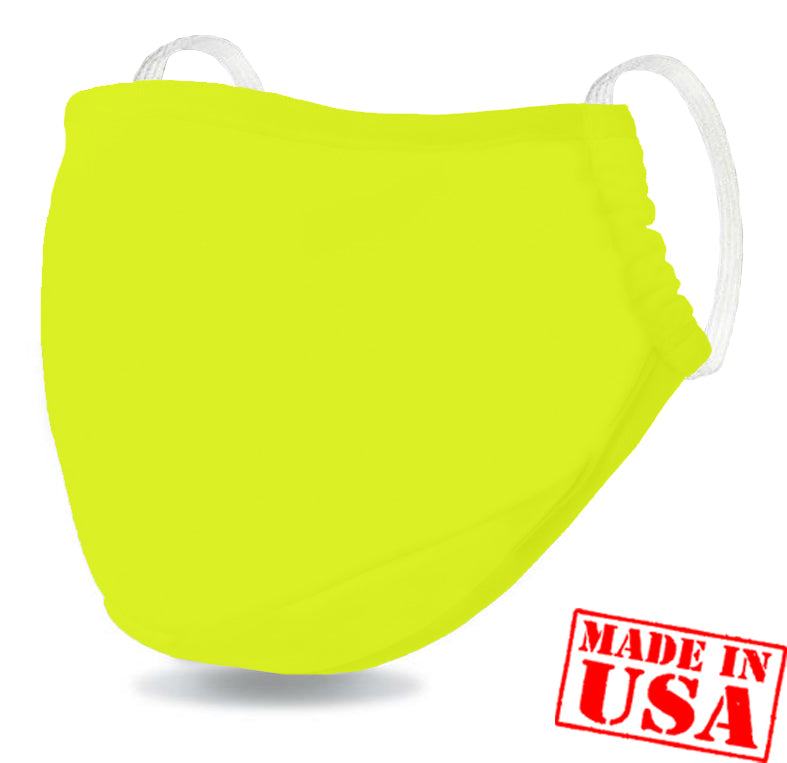 DFNDR 4 Layer Protection Face Mask - Hi Vis