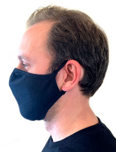 Load image into Gallery viewer, 2 Layer Face Masks - 6 Pack - Black (Not The DFNDR Masks)