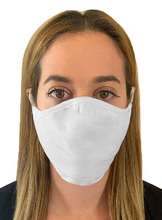 Load image into Gallery viewer, 2 Layer Face Masks - 6 Pack - White (Not The DFNDR Masks)