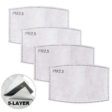 Load image into Gallery viewer, PM 2.5 Activated Carbon Filters - 4 PACK For The DFNDR Masks