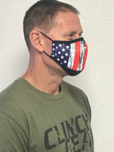 DFNDR 4 Layer Protection Face Mask - Patriot
