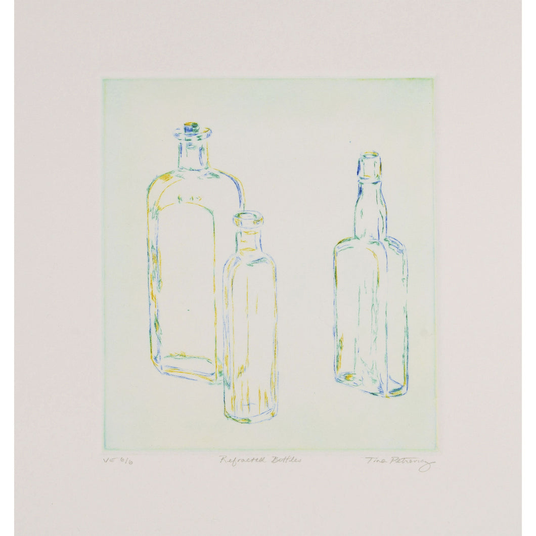 Tina Petrovicz - Refracted Bottles