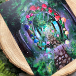 "Load image into Gallery viewer, ""Enchanted utopia"" Art Print"