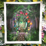 "Load image into Gallery viewer, ""Enchanted Utopia"" Original painting"