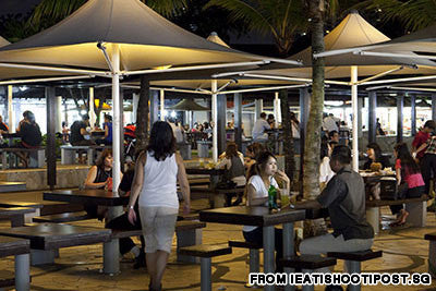 Lagoon Food Centre on ECP is Wang's masterpiece: creating a beachfront-dining experience at affordable prices