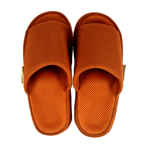 Japanese Massage Health Slippers for Men - Coffee Brown (Free Size)
