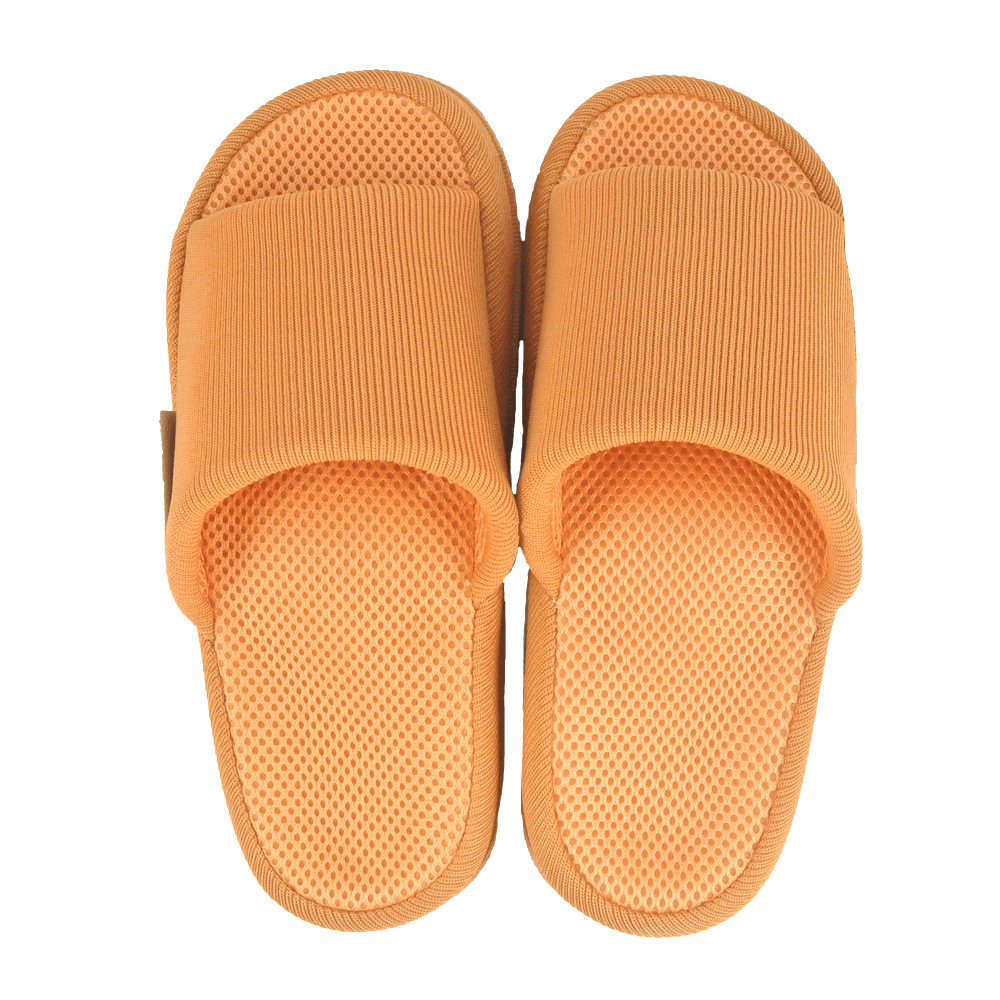 Japanese Massage Health Slippers for Women - Light Orange (Free Size)