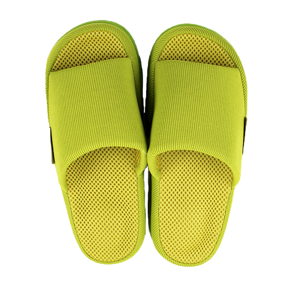 Japanese Massage Health Slippers for Women - Lime Green (Free Size)