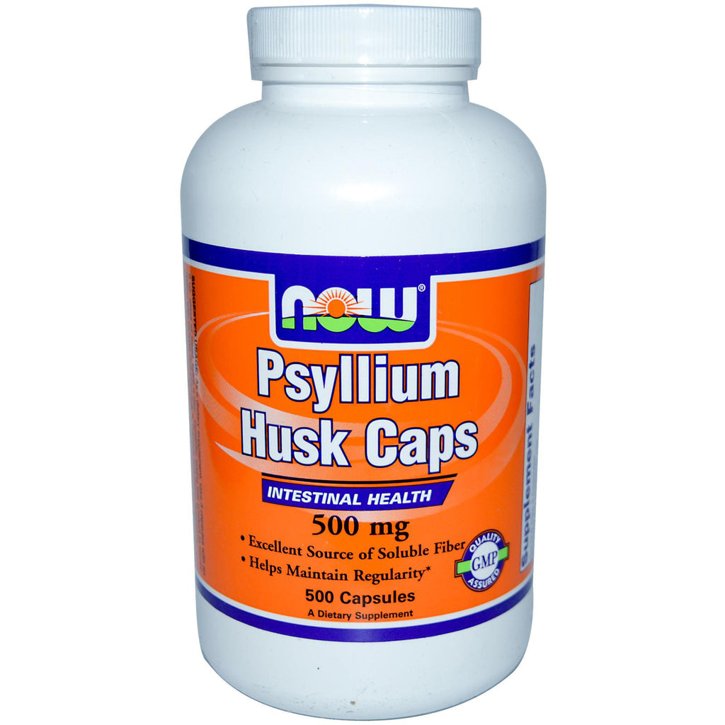 Now Foods - Psyllium Husk Caps (500 Capsules)