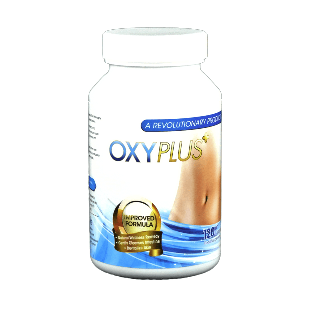 OxyPlus for Tummy, Skin & Constipation (120 Capsules)