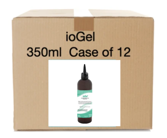 ioGel Periodontal Gel 350ml  (apple-mint) - Case of 12.  Professional Case Pricing Applied