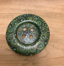 "Load image into Gallery viewer, 2.25""Hand Painted Wood Buttons."