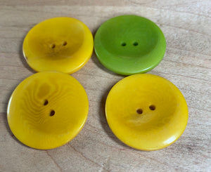 Dyed Nut Buttons