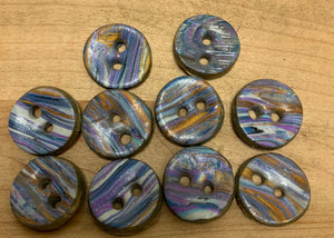 "1/2"" Polymer Buttons"