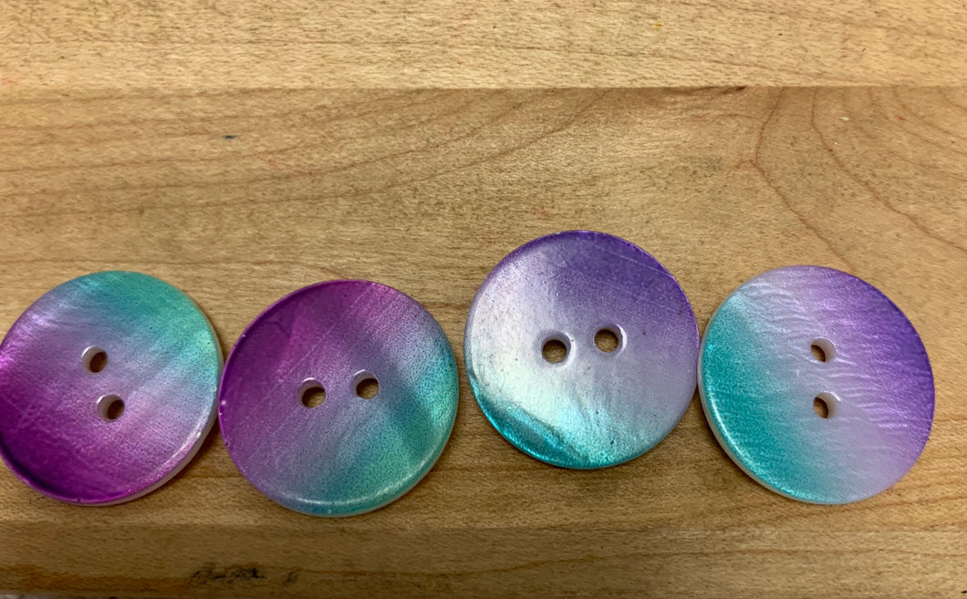 Round  Abalone Buttons