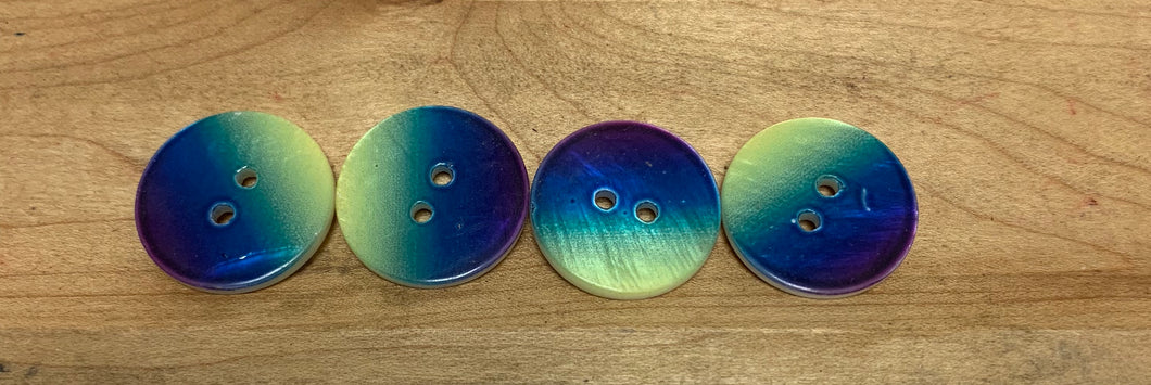 Painted Abalone Buttons