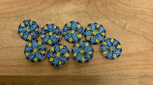 Mini Pottery Buttons