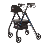 Lifestyle Mobility Aluminum Rollator / Walker with Universal Height Adjustment