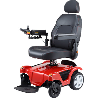 Merits Dualer Raise Seat Compact Wheelchair