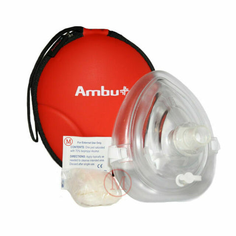 Ambu Res-cue Mask Professional CPR Pocket Resuscitator