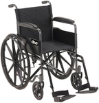 Drive Silver Sport 1 Wheelchair 18""