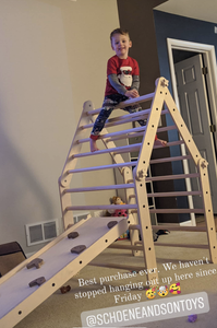 Adjustable Pikler Climber - Tall Pikler Triangle