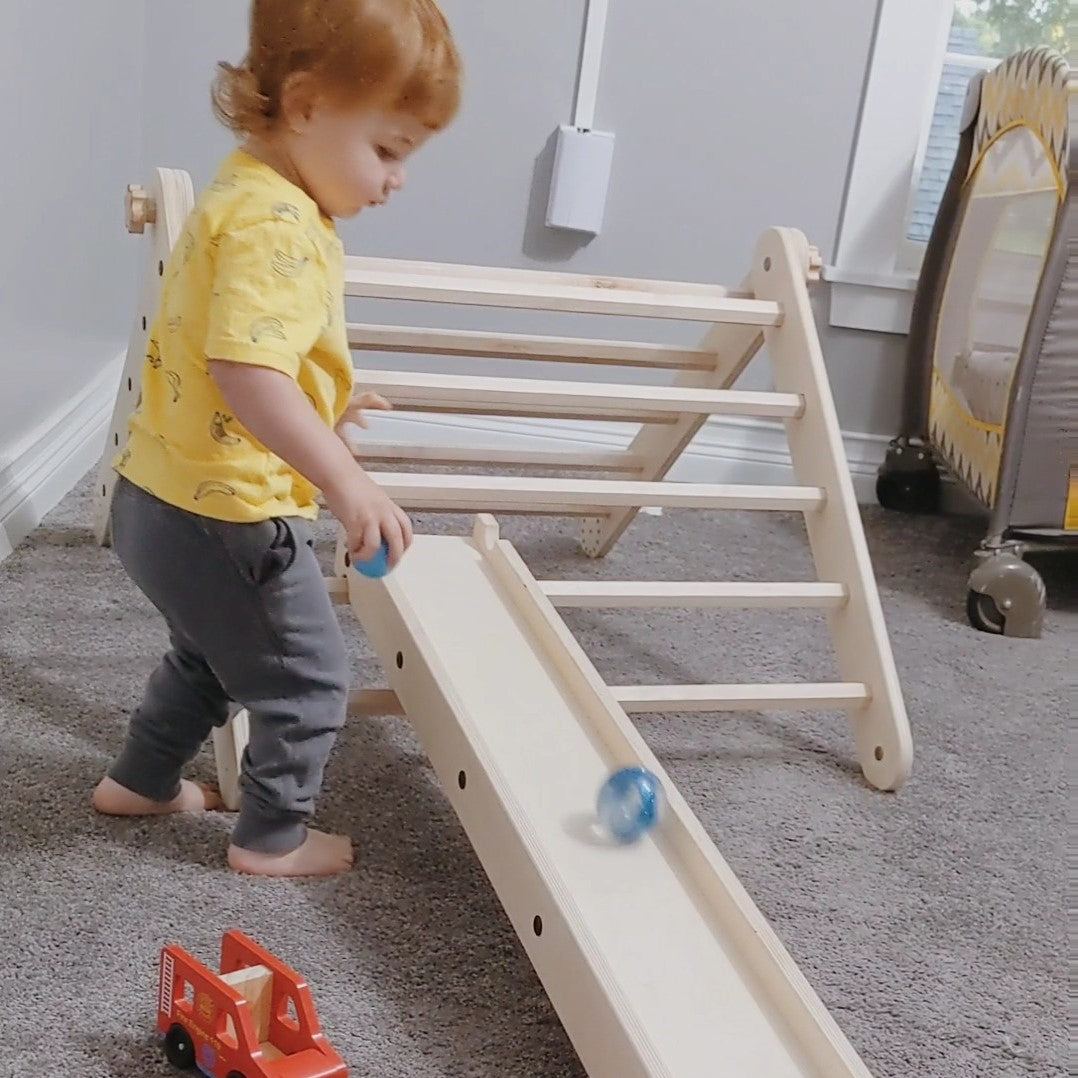 Balance Beam Ball Run Pikler Ramp