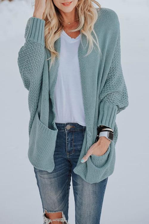Florcoo Cassie Batwing Sleeves Sweater Cardigans