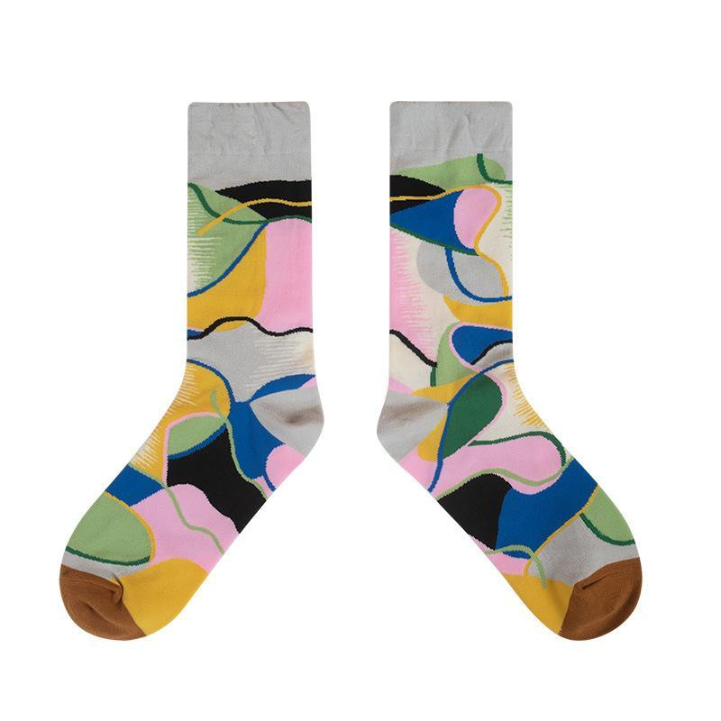 Florcoo Creative Color Tide Socks