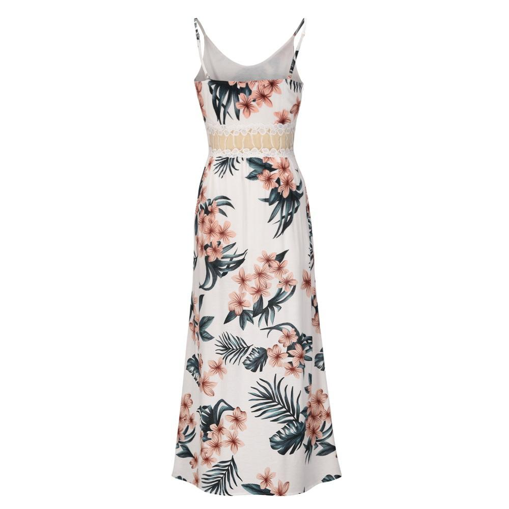 Florcoo Printed Lace Camisole Dress ( 3 Colors)