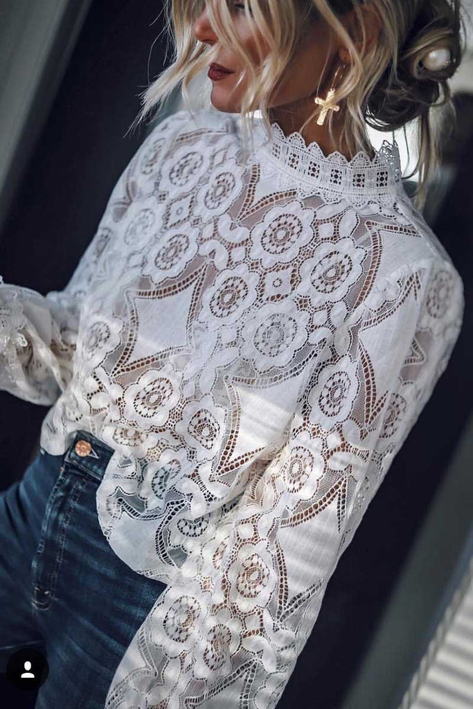 Florcoo Sexy Lace Tops ( 2 Colors)