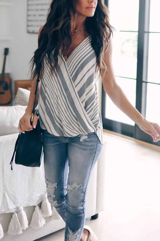 Florcoo Stripe Tank Top