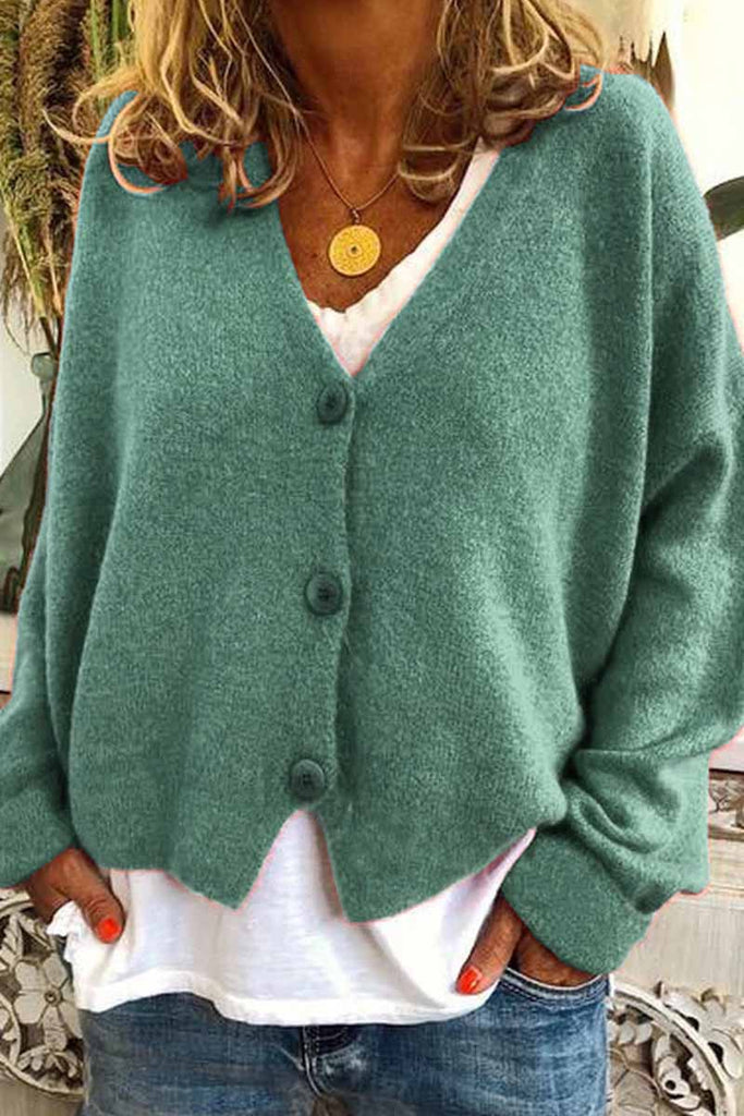 Florcoo Casual Loose Knitted Cardigan ( 3 Color )