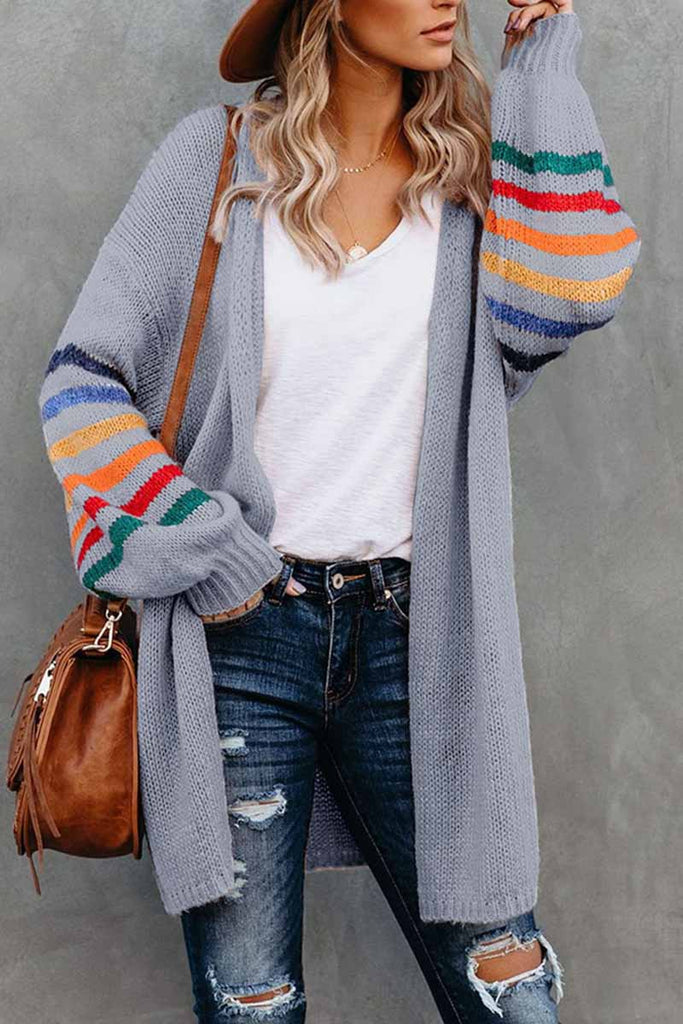 Florcoo Loose Casual Knitted Coat