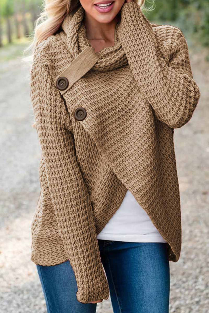 Florcoo Irregular Winter Shawl Coat(6 Colors)