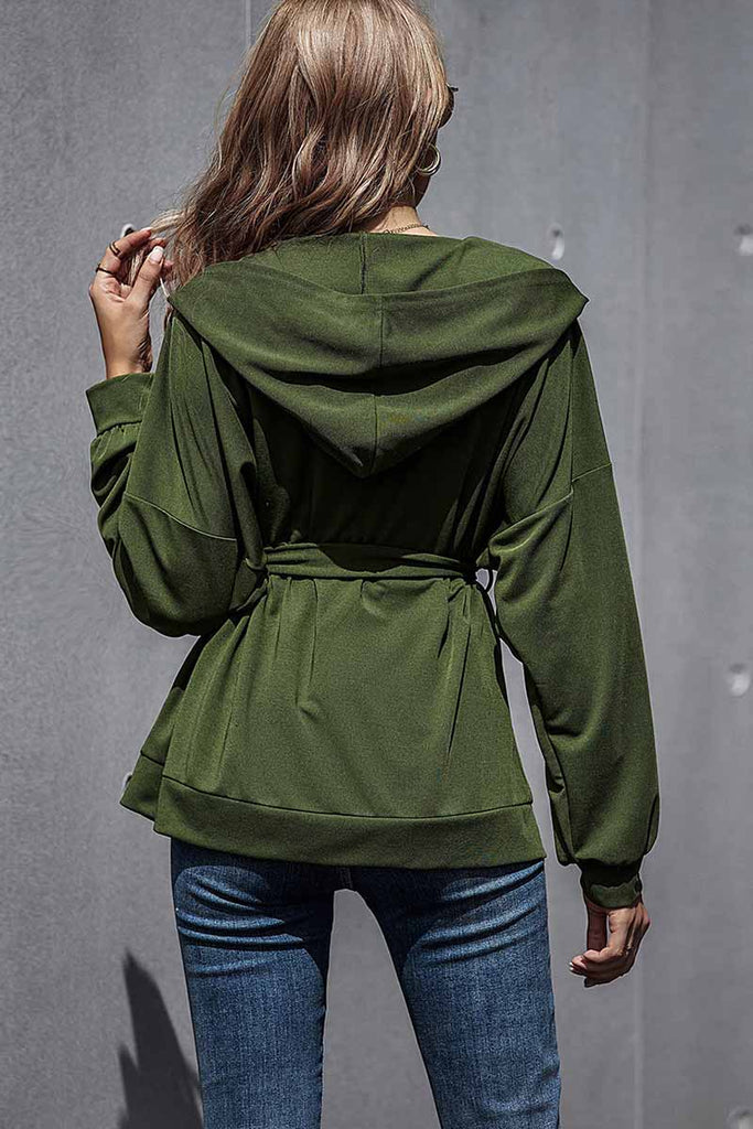 Florcoo Casual Solid Color Thin Short Jacket