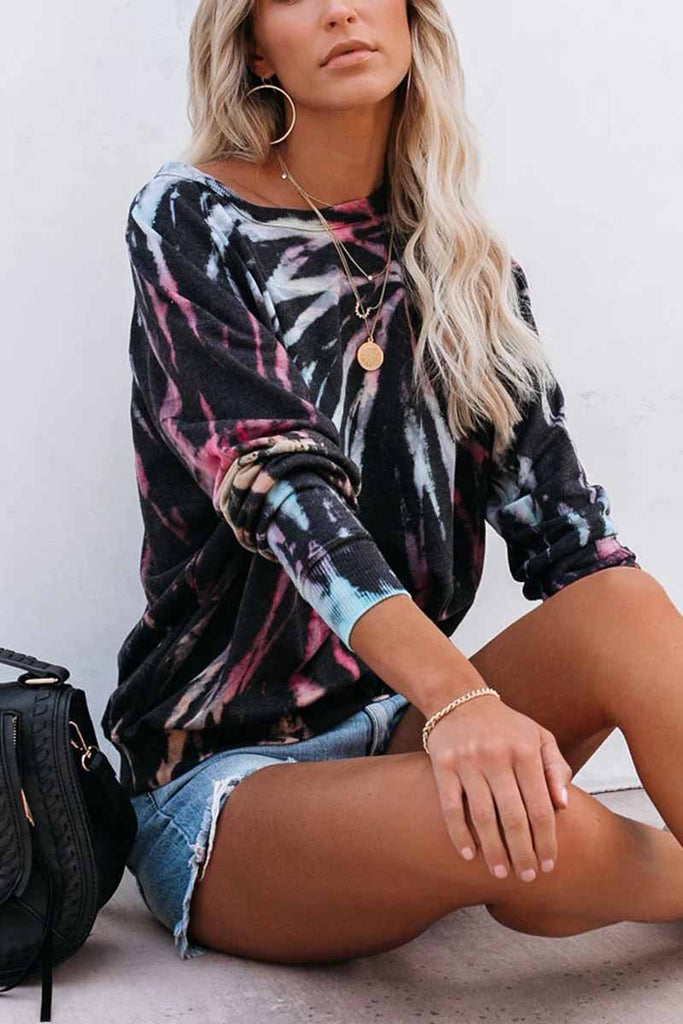 Florcoo O-neck Long Sleeve Casual T-shirt