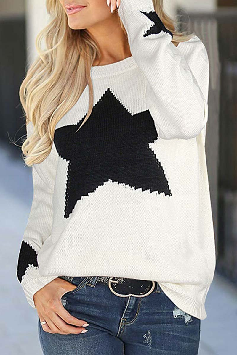 Florcoo Star Shaped Sweater 3 Colors