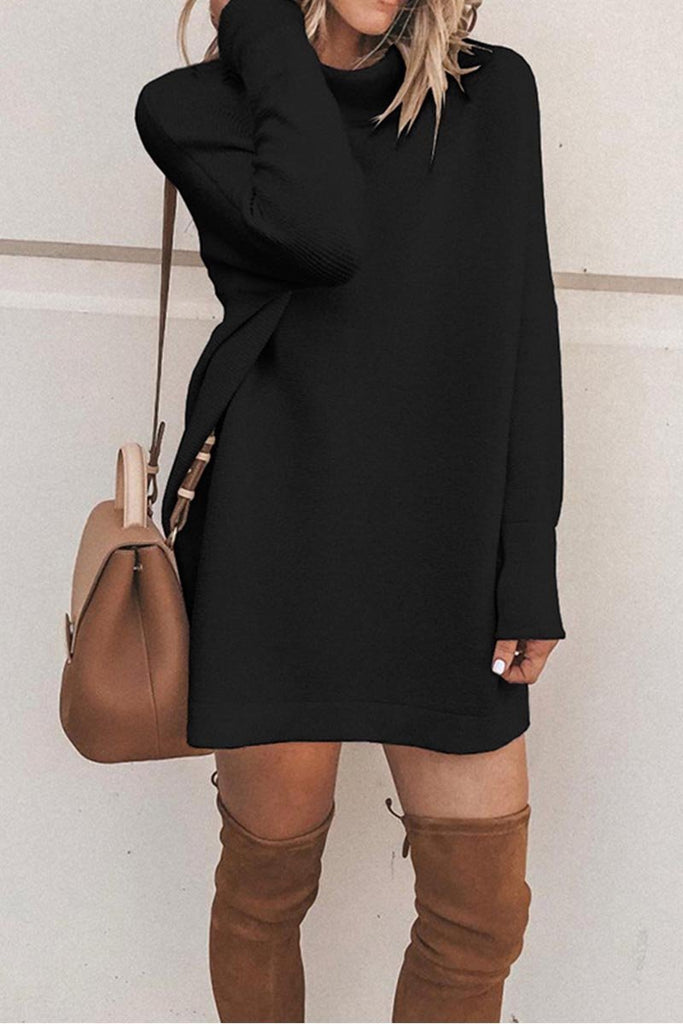Florcoo O Neck Autumn Dress