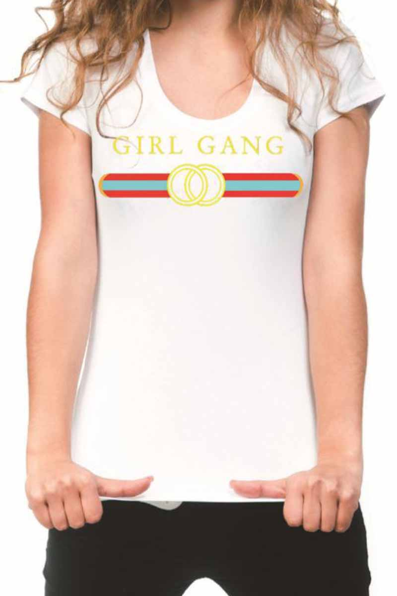 Florcoo Girl Gang Round neck T-shirt