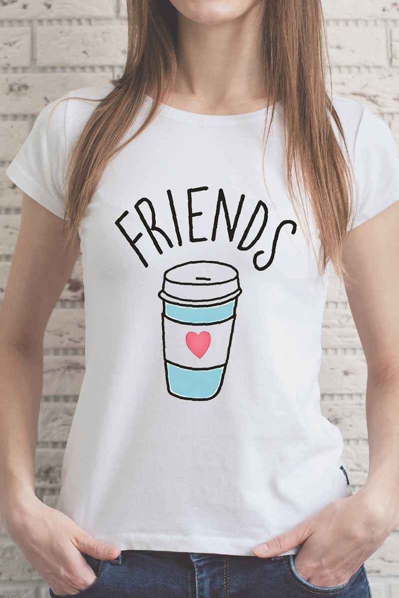 Florcoo Colorful Drinking Glass T-shirt