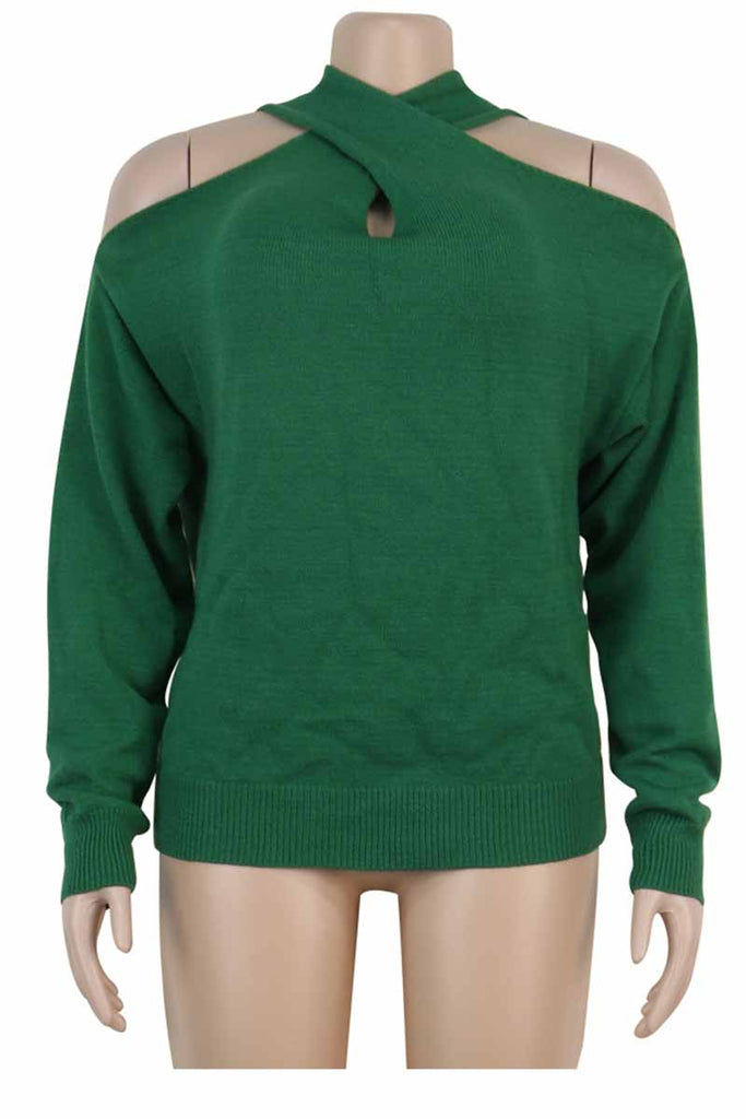 Florcoo Hollow-out Loose Sweater(3 Colors)